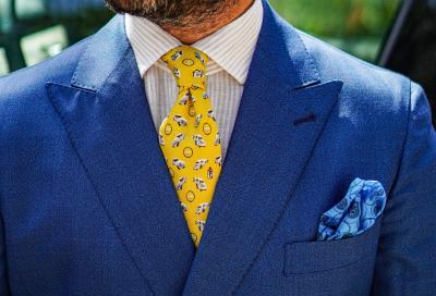 Pebble Beach e Outlierman creano una cravatta in onore di Pininfarina
