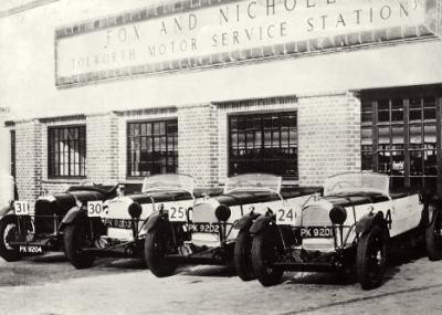 All'asta un intero team di Lagonda da corsa degli anni '20