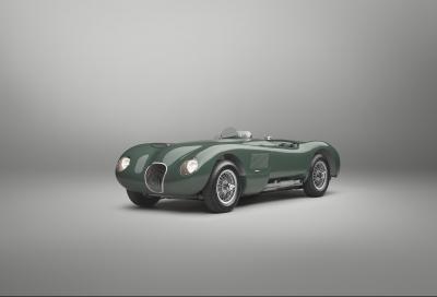 Jaguar svela l'incantevole C-Type Continuation