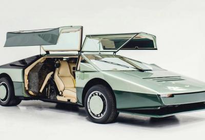 Restaurata completamente l'Aston martin Bulldog