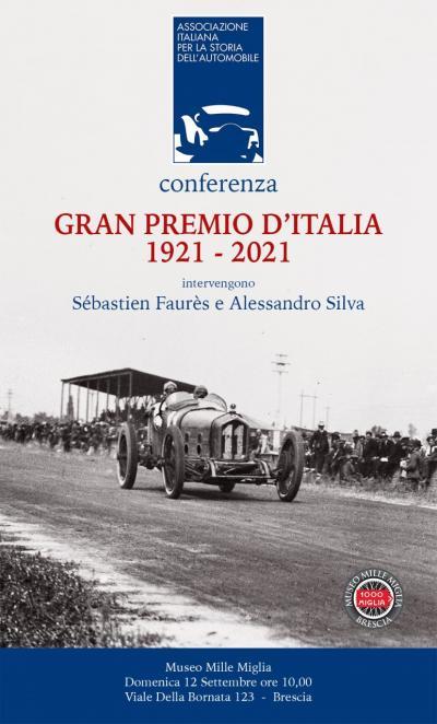 L'AISA celebra il centenario del primo Gran Premio d'Italia