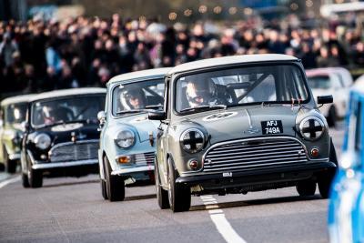 Al Goodwood Revival 30 Mini Cooper si sfideranno con al volante piloti eccezionali