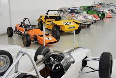 Skoda inaugura una nuova mostra per i 120 anni nel Motorsport