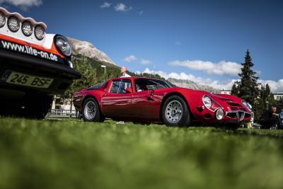 Si conclude la 'nuova' International Automobile Week St. Moritz