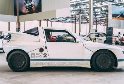 Il prototipo Lancia ECV2 protagonista al