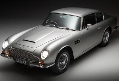 Lunaz rovina un'Aston Martin DB6