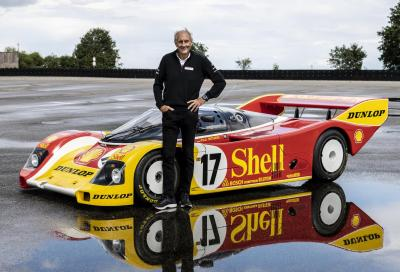 Porsche restaura la 962 C di Hans-Joachim Stuck