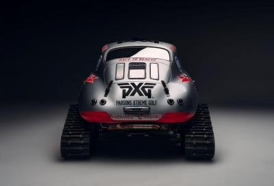 Una Porsche 356 A è pronta per affrontare l'Antartide