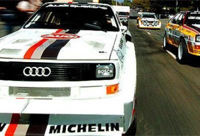 Audi quattro, la storia