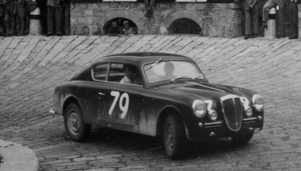Lancia Aurelia B20 alla coppa Dolomiti 1951