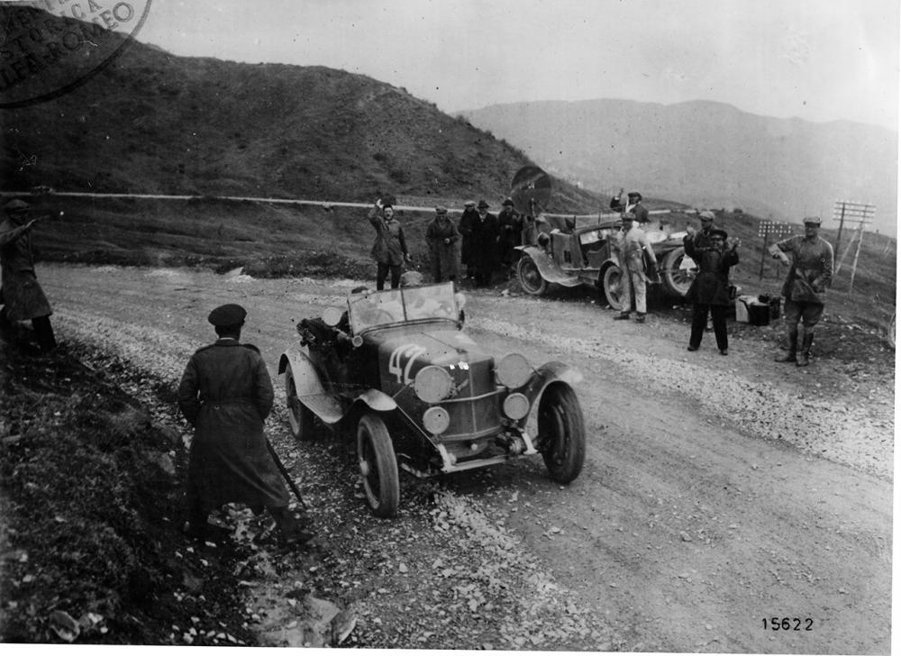 Alfa Romeo RL SS alla Mille Miglia 1927