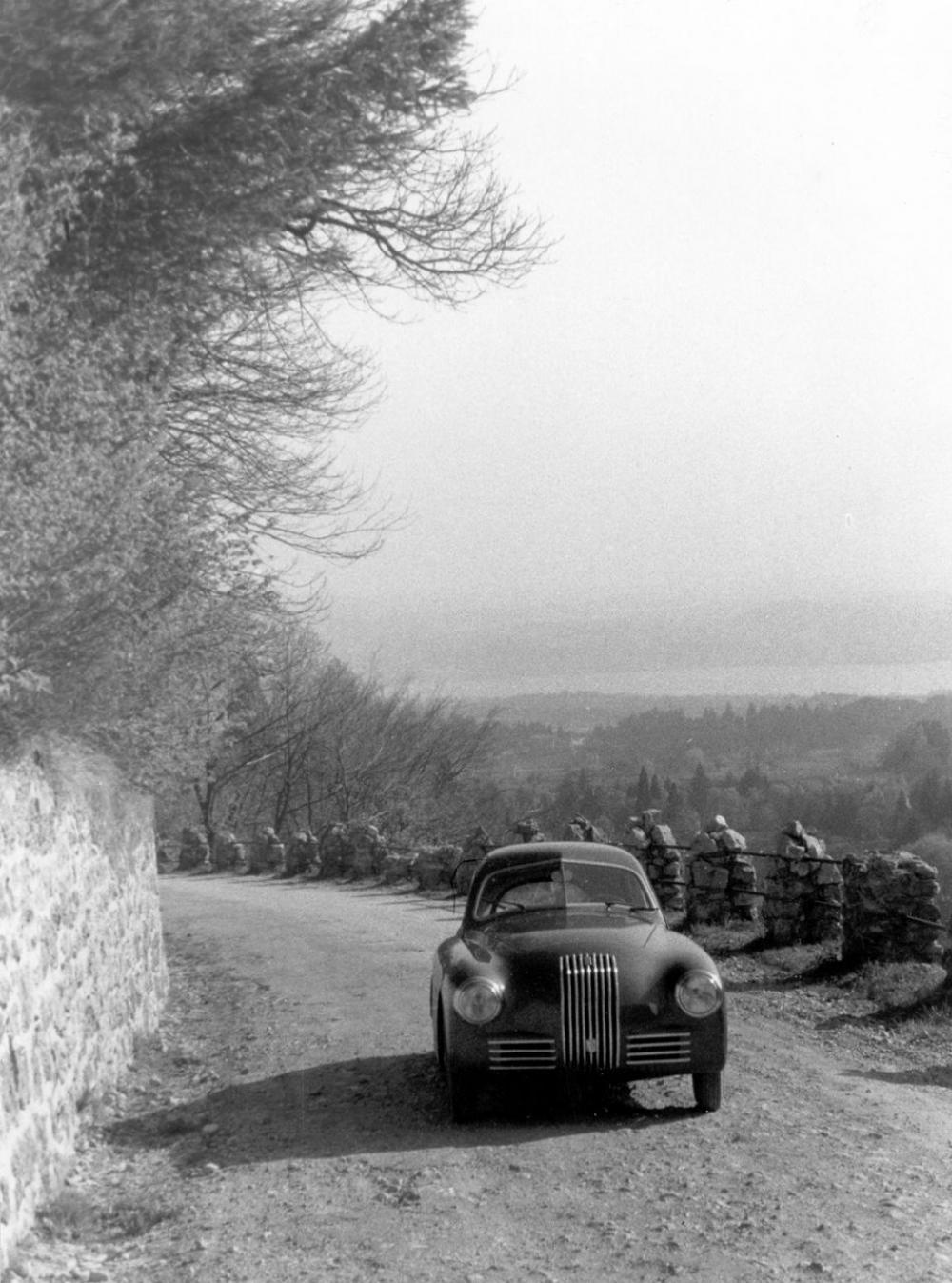 Fiat 1100 S alle Mille Miglia 1949