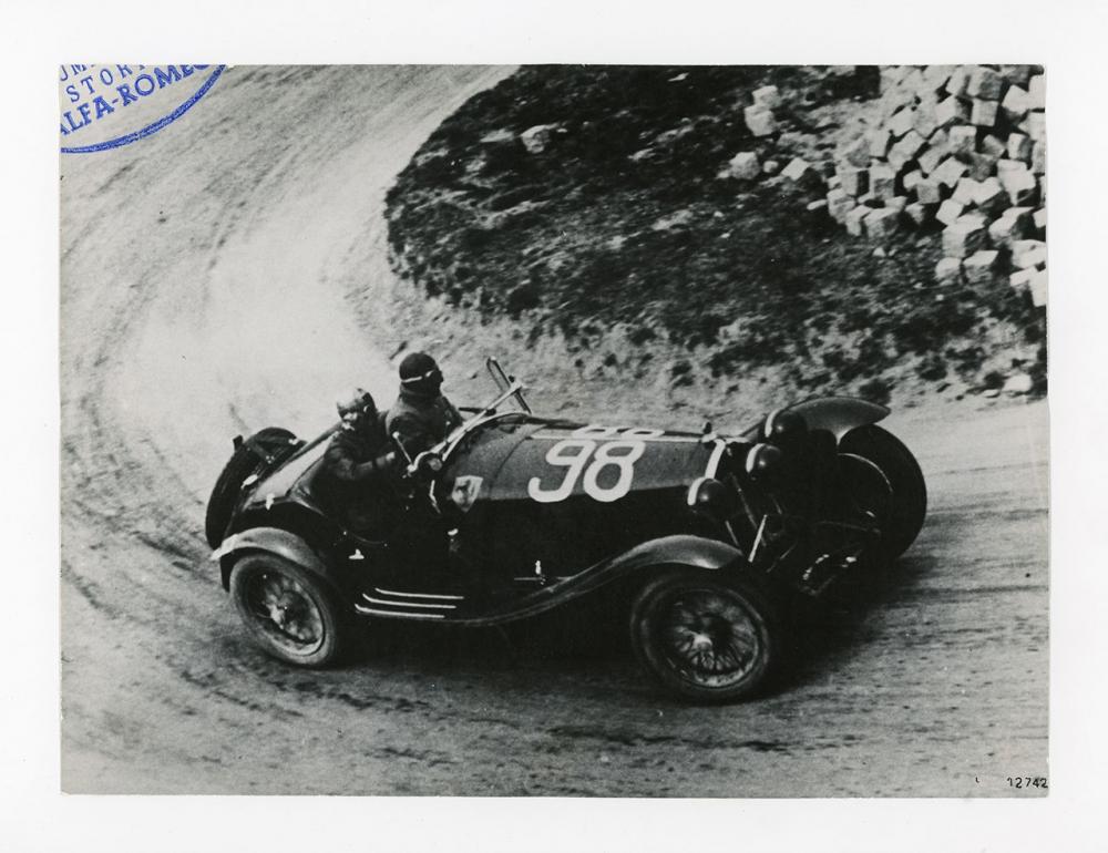 Alfa Romeo 8C 2300 alla Mille Miglia 1933