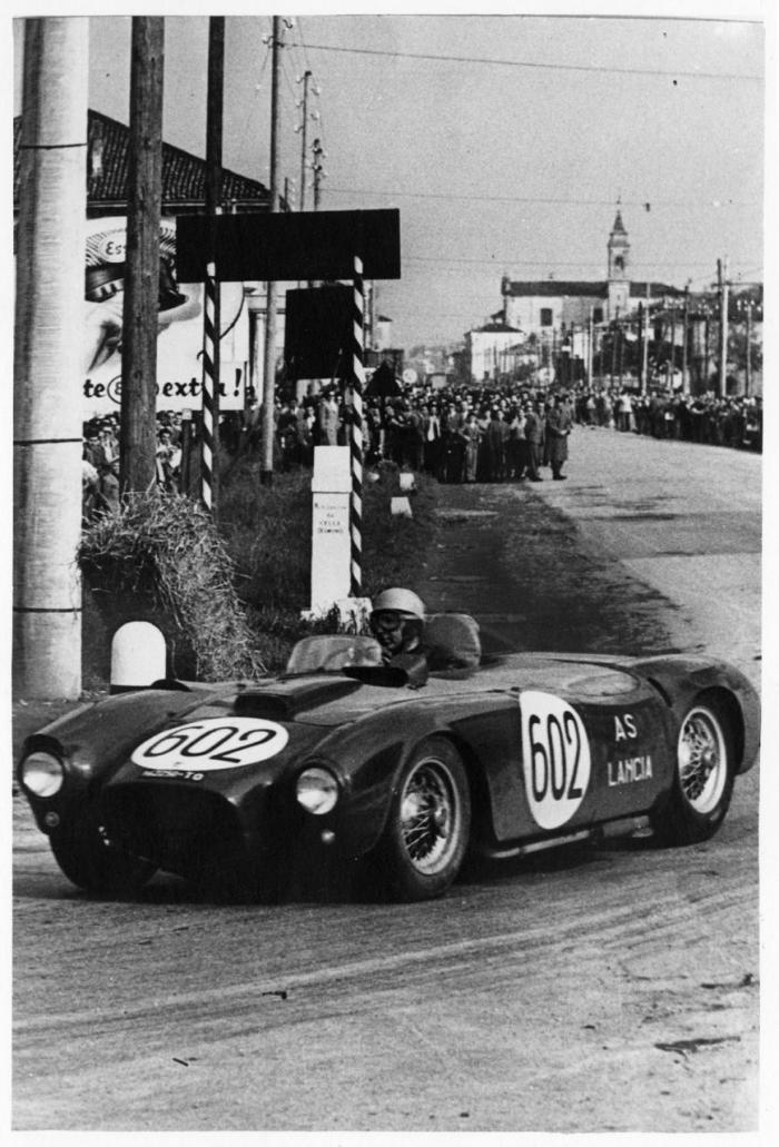 Lancia D 24 alle Mille Miglia 1954