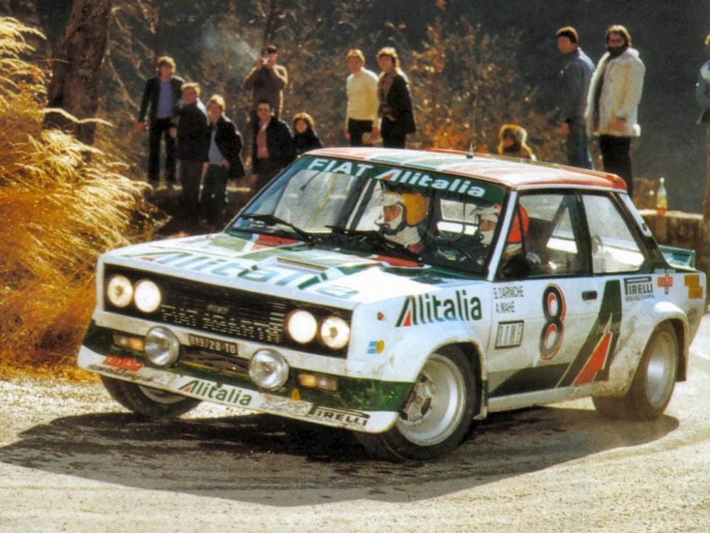 Darniche-Mahé al Rally di Monte-Carlo del 1978.