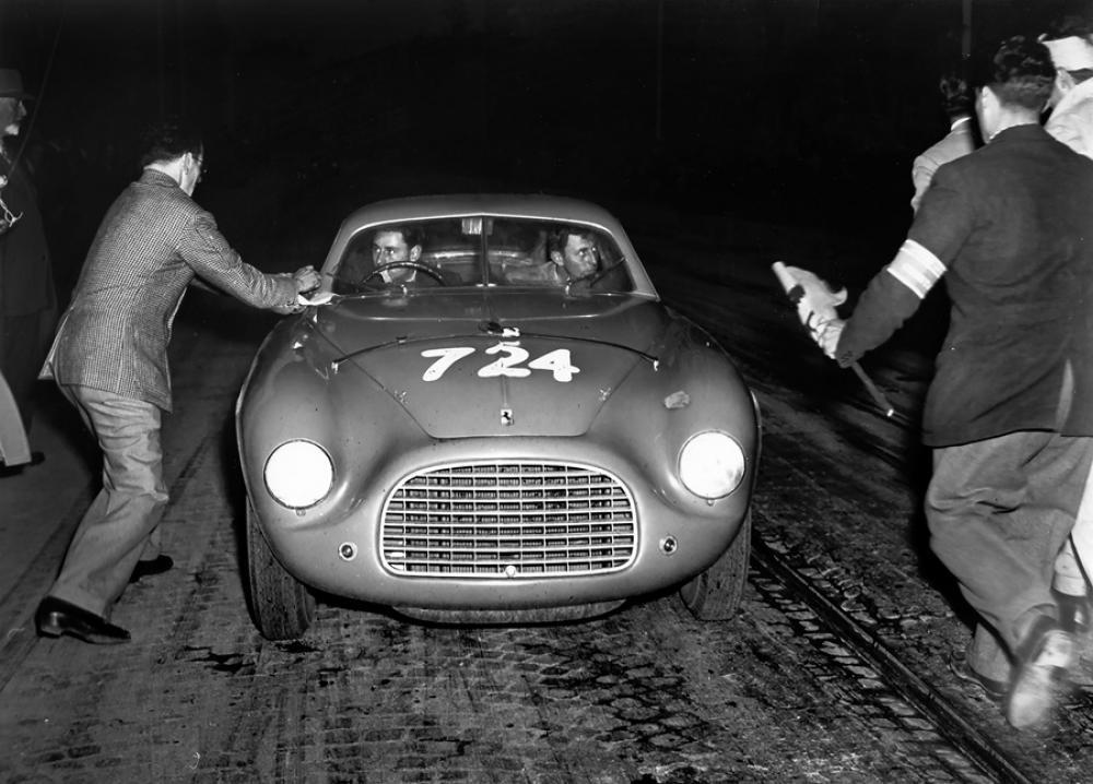 1950 G.Marzotto-Crosara su Ferrari 195 S Berlinetta Touring