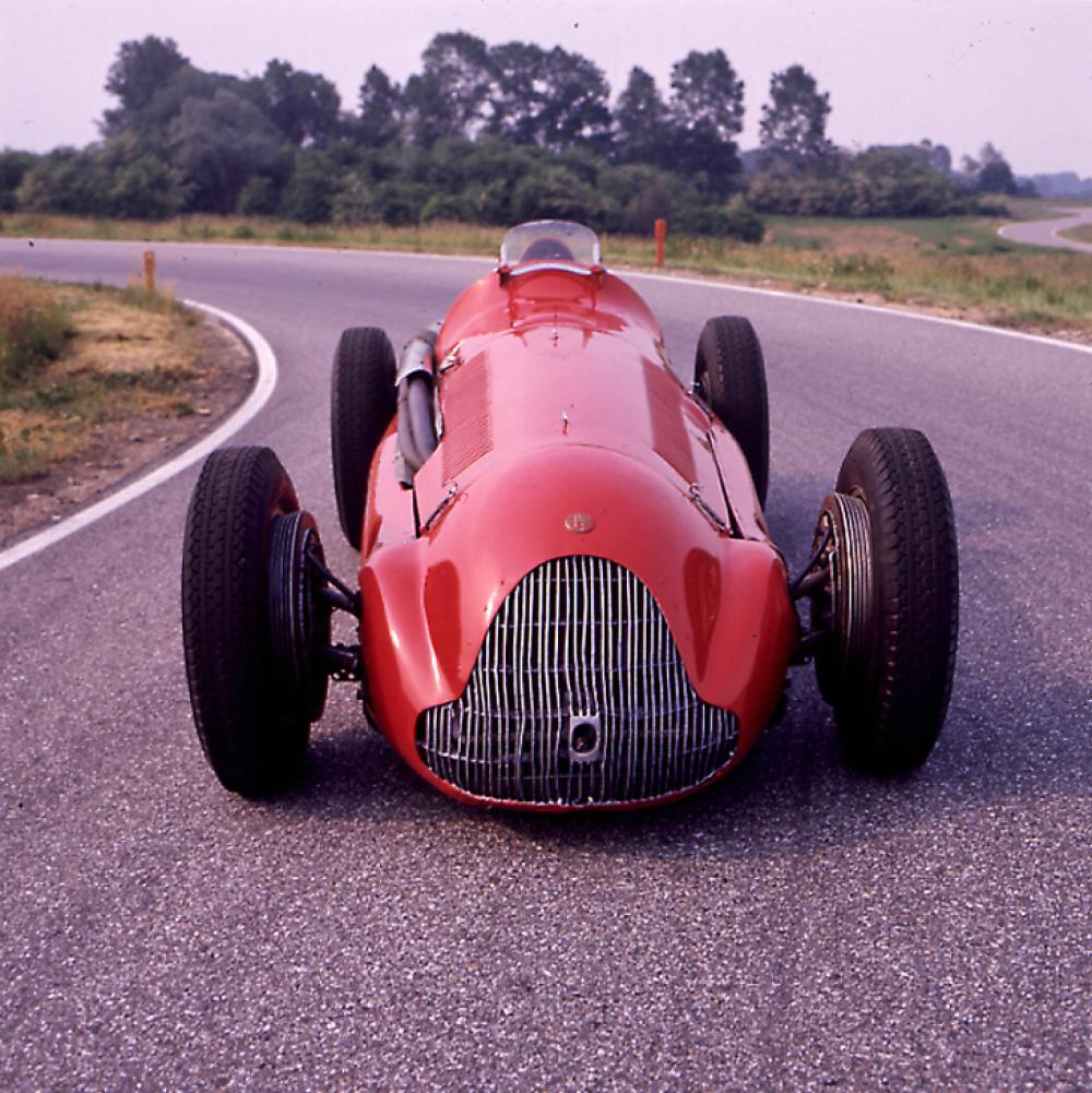 L'Alfetta 158 campione del mondo 1