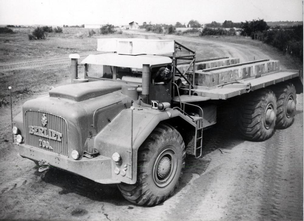 Collaudo di durata del T100-01nel 1958.