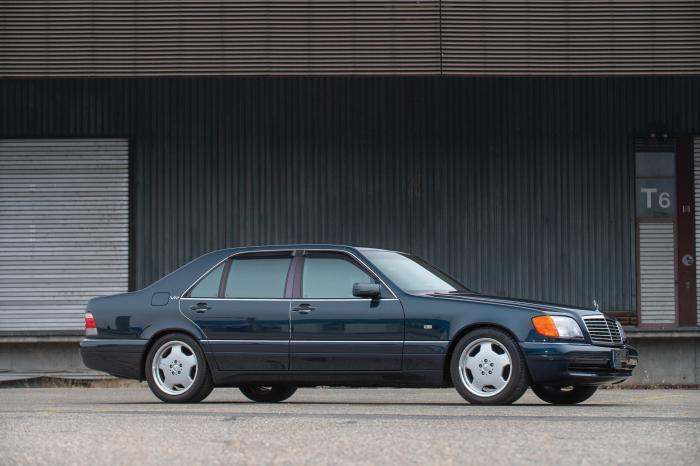 1996 Mercedes-BenzS 600 L AMGV12