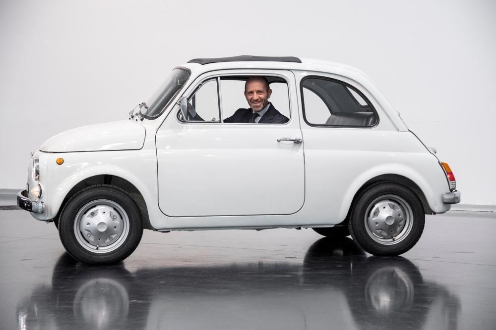 Luca Napolitano,Head of EMEA Fiat and Abarth brands.