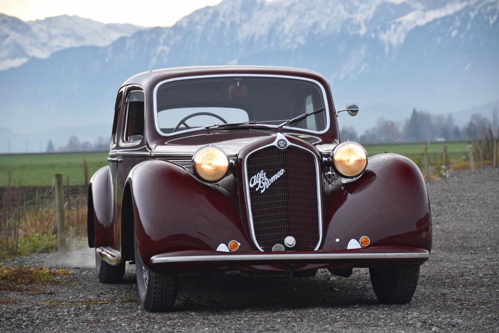 alfa romeo 6c 2500 turismo 5 posti 1940