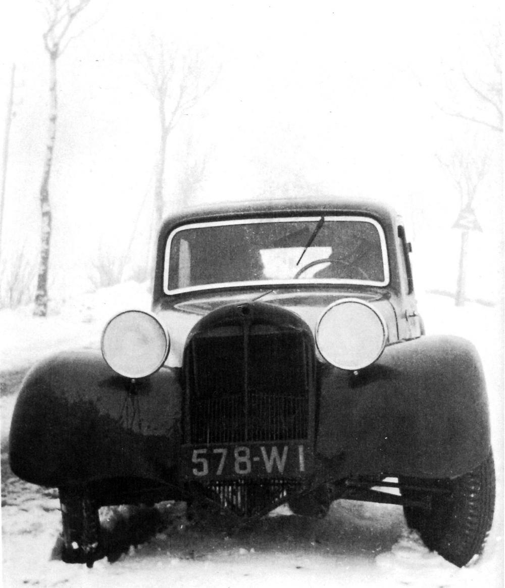 Il prototipo PV nel gennaio del 1934