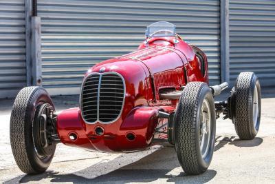 1939: con la 6CM Maserati vince la Targa Florio per la terza volta di fila